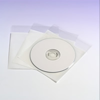 Clear single CD pocket